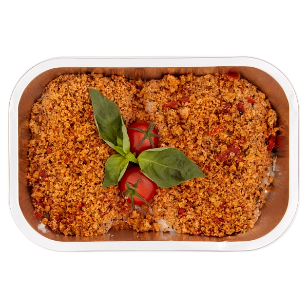 Prepared By Our Fishmonger Hake With Tomato Crumb