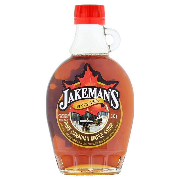 051ca77df53 Jakemans Pure Canadian Maple Syrup (330 Grams)