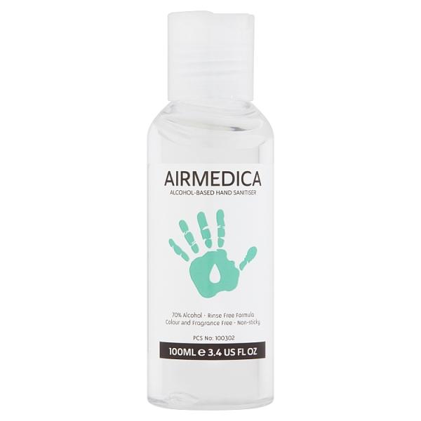 Airmedica 70% Alcohol Based Hand Sanitiser