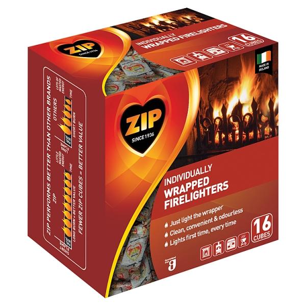 Zip Fast & Clean 16 Pack (600 Grams)