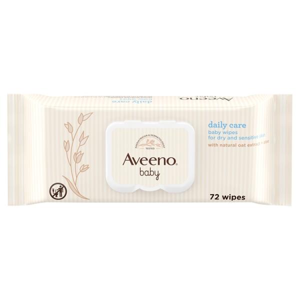 Aveeno Baby Baby Wipes Dry & Sensitive Skin