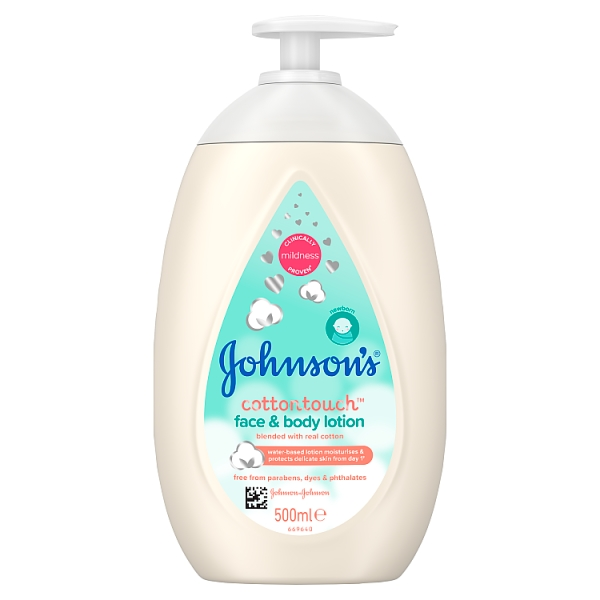 Johnson's Cotton Touch Face & Body Lotion