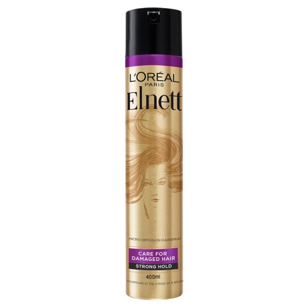L'Oreal Elnett Care For Damaged Hair Strong Hold Hairspray