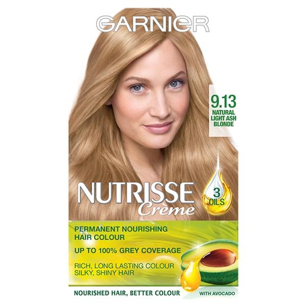 Garnier Nutrisse Natural Light Ash Blonde 9 13