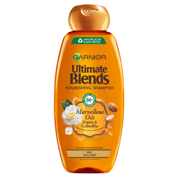 Ultimate Blends Argan Oil Shiny Hair Shampoo
