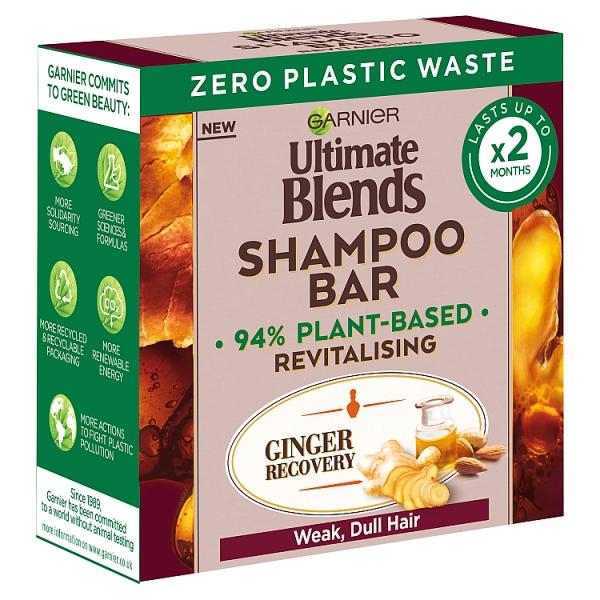 Garnier Ultimate Blends Ginger Recovery Shampoo Bar