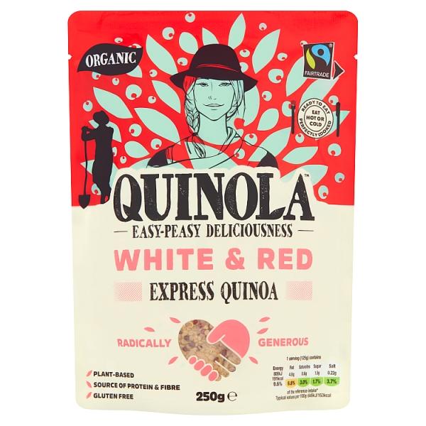 Quinola Organic & Gluten Free Pearl  Express Quinoa