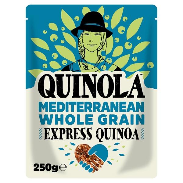 Quinola Express Wholegrain Quinoa Mediterr