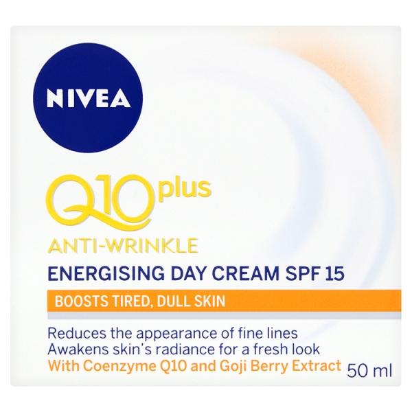 Nivea Q10 Energising Day Cream (50 Millilitre)