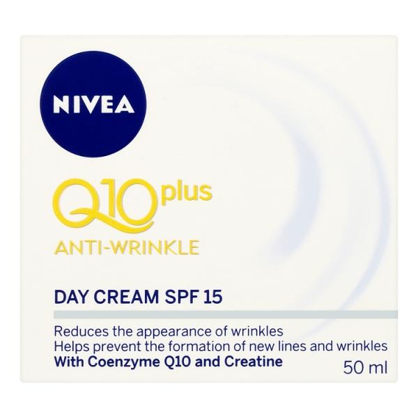 Nivea Q10 Plus Anti Wrinkle Day Cream (50 Millilitre)
