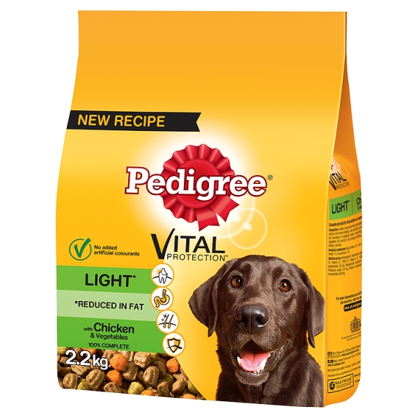 Pedigree Dry Light Chicken 22 Kilogram