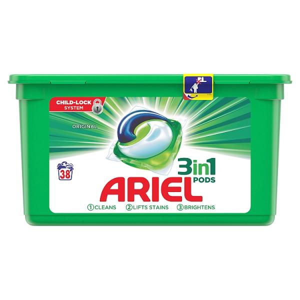 Ariel 3 in 1 Washing Pods