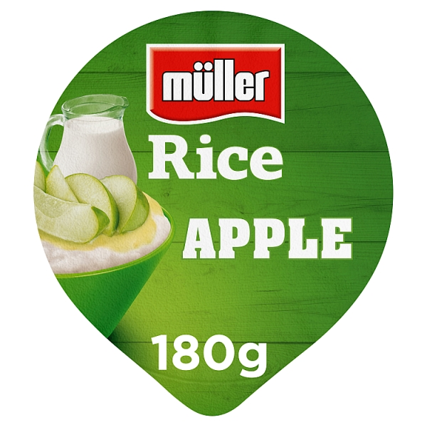 Muller Rice Apple In Syrup
