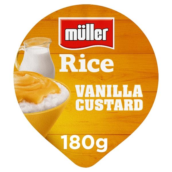Muller Rice Vanilla Custard