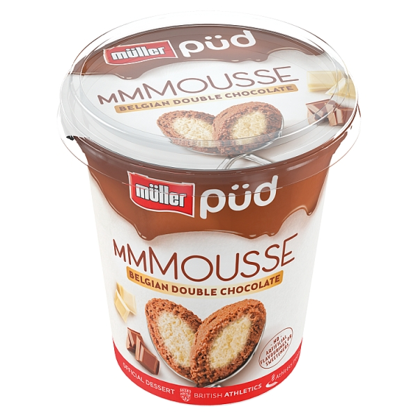 Müller Püd Mousse Belgian Chocolate with White Chocolate Centre