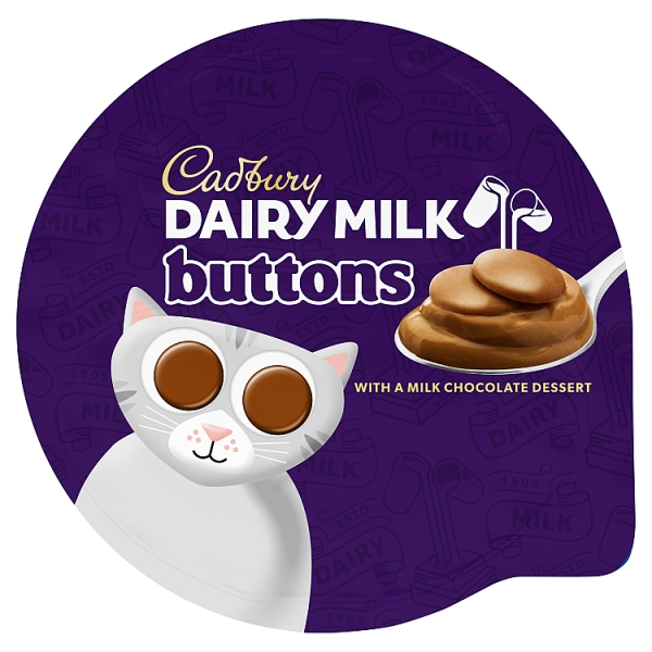 Cadbury Dairy Milk Buttons Chocolate Dessert