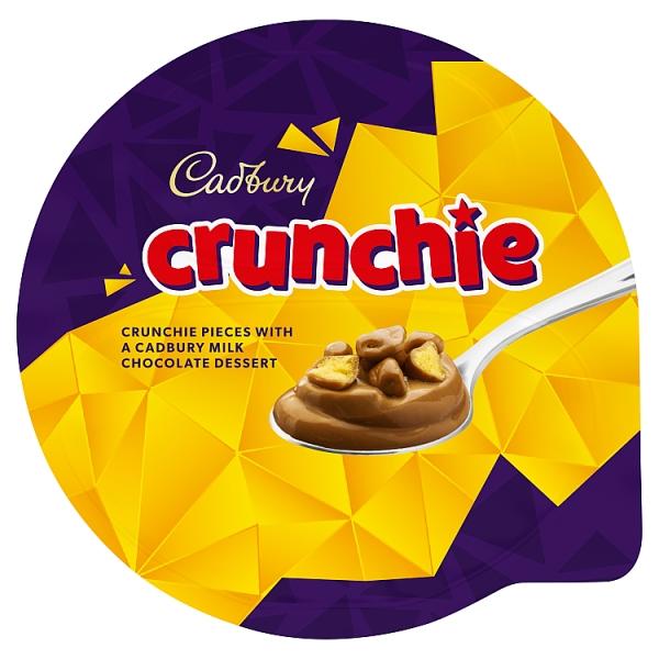 Cadbury Limited Edition Crunchie Chocolate Dessert