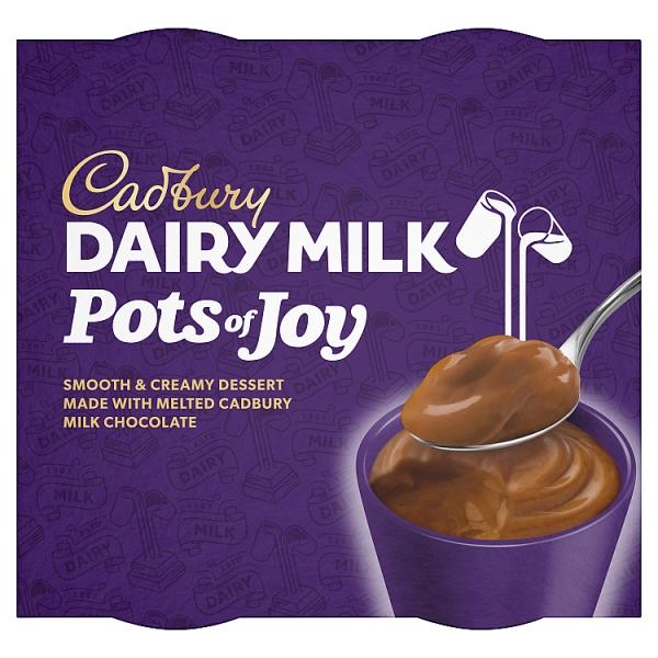 Cadbury Pots Of Joy Caramel 4 Pack