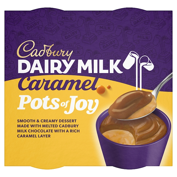 Cadbury Pots Of Joy Dairy Milk 4 Pack