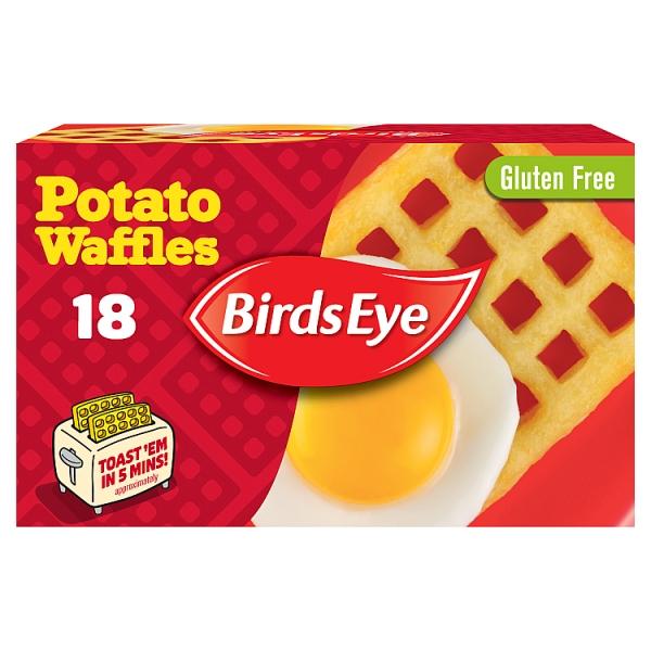 Birds Eye Potato Waffles 18 Pack