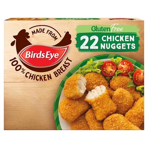Birds Eye Gluten Free 22 Nuggets 455 Grams