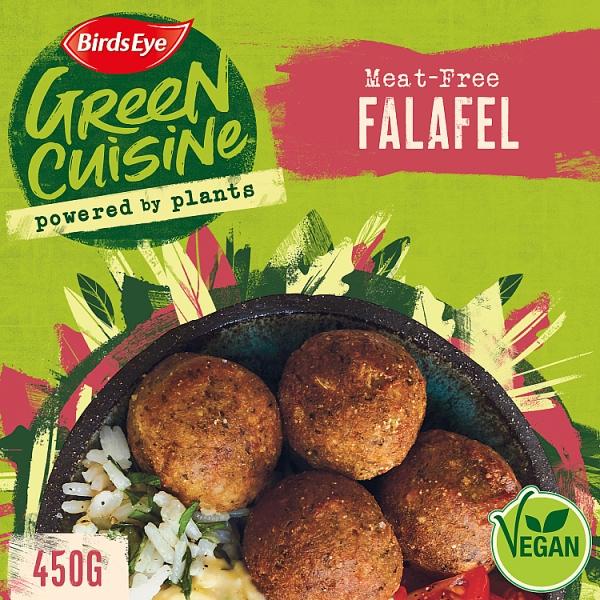 Birds Eye Green Cuisine Falafel