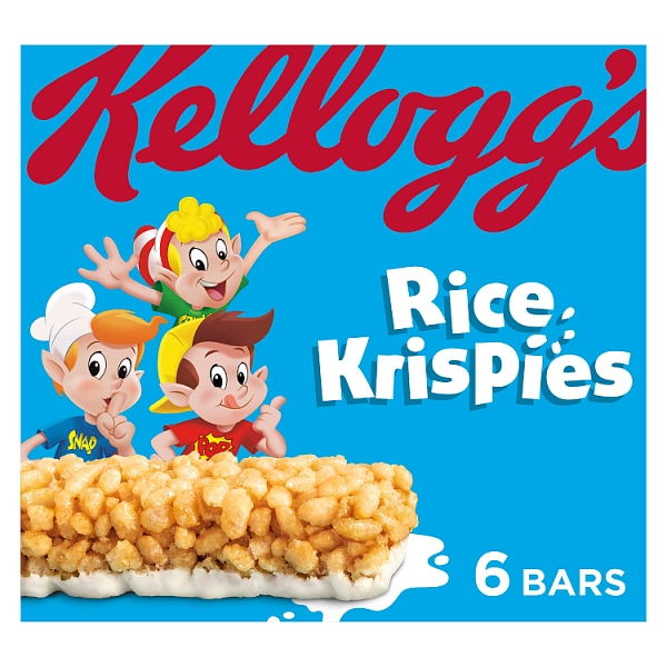 Kellogg's Cereal & Milk Bar Rice Krispies 6 Pack