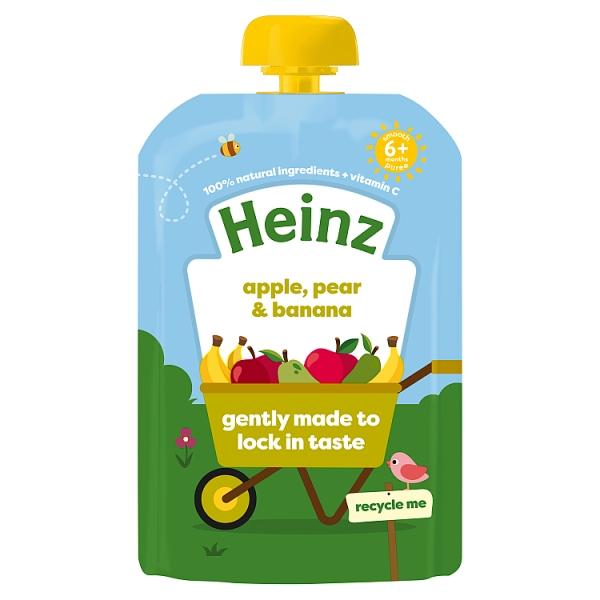 Heinz Apple, Pear & Banana 4+ Months