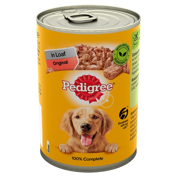 Pedigree Can Loaf Original 400 Grams