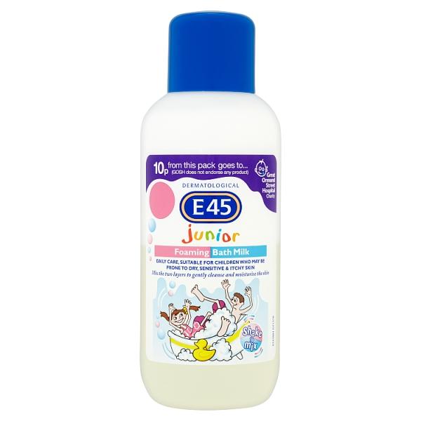 E45 Junior Bath Milk (500 Millilitre)
