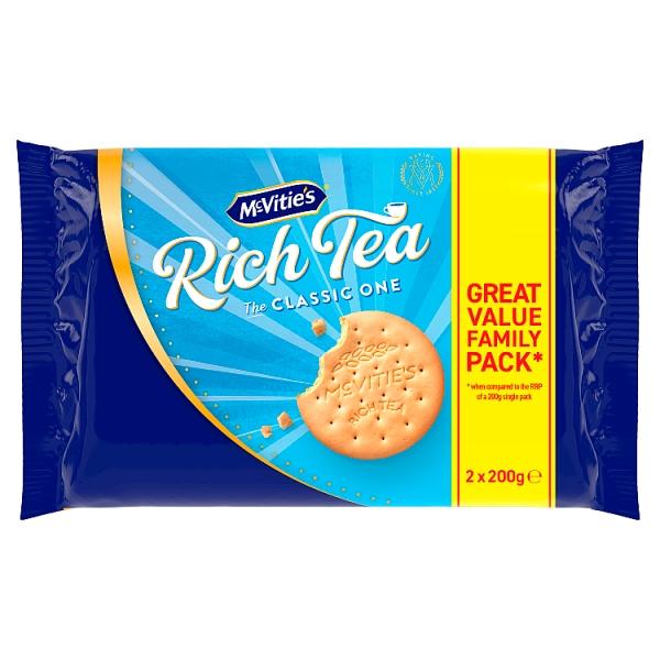 McVitie's Rich Tea Twin Pack