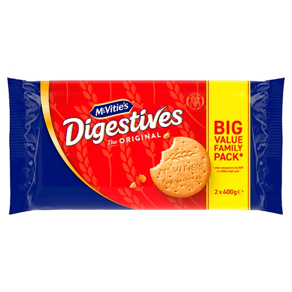 McVitie's Digestive Twin Pack