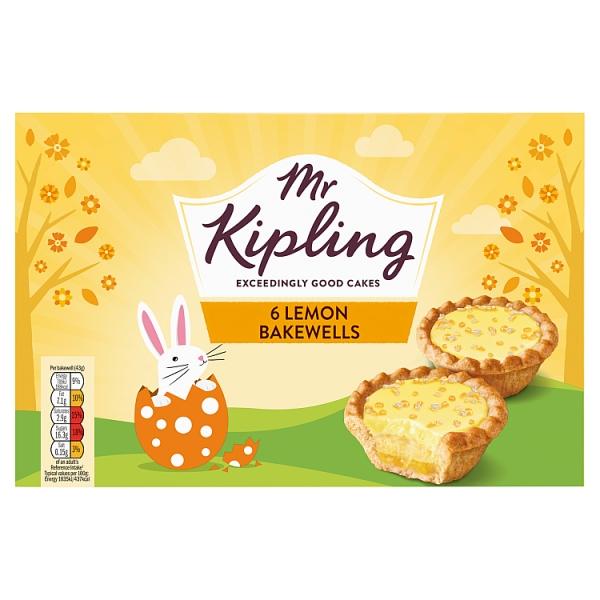 50f012cd0e Mr. Kipling 6 Lemon Bakewells