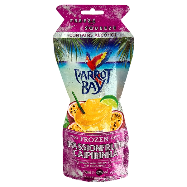 Parrot Bay Passion Fruit Caipirinha (25 Centilitre)