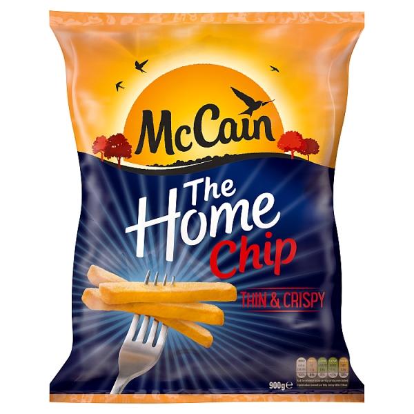 McCain Home Fries Thin & Crispy (900 Grams)