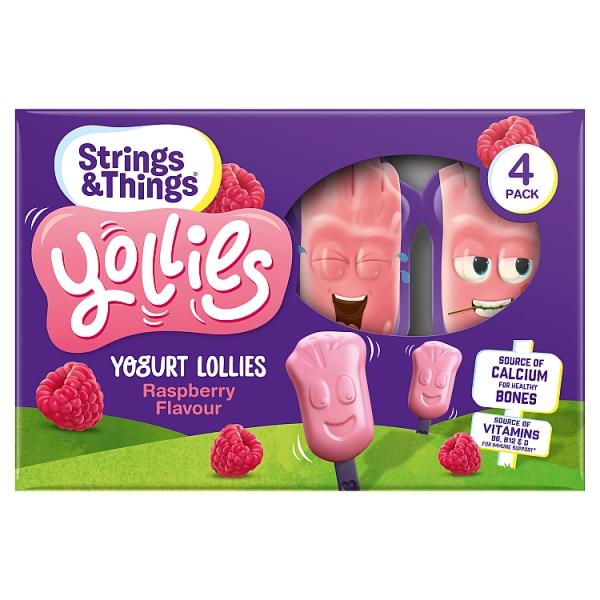 Strings & Things Raspberry Yollies 4 Pack