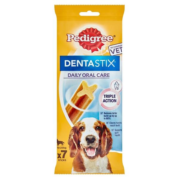 Pedigree Dentastix Medium Dog 7 Sticks 180 Grams