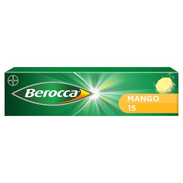 Berocca Mango Effervescent Tablets