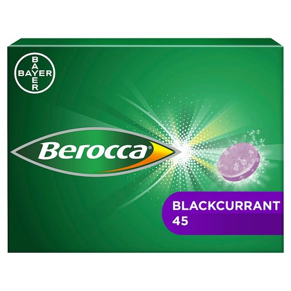 Berocca Blackcurrant 45s
