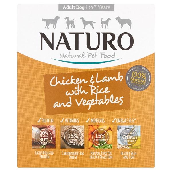 Naturo Adult Wet Chicken & Rice (400 Grams)