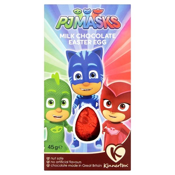 Kinnerton Kids Egg Pj Masks (45 Grams)