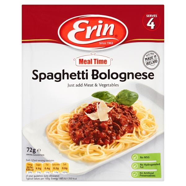 Erin Spaghetti Bolognese Sauce