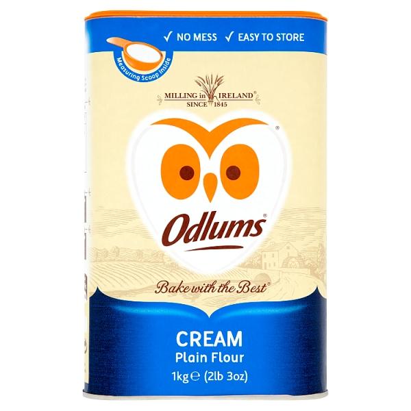 Odlums Cream Reseal Tub