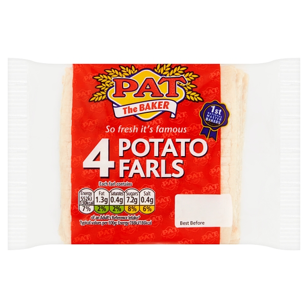Pat The Baker Potato Farls