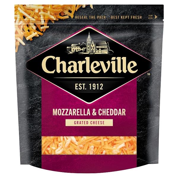 Charleville Grated Mozzarella & Red Cheddar