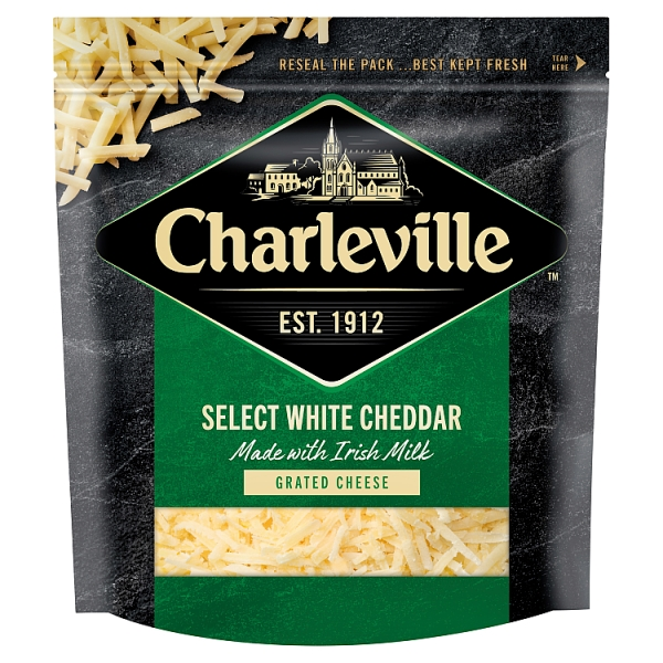 Charleville Grated Select White Cheddar