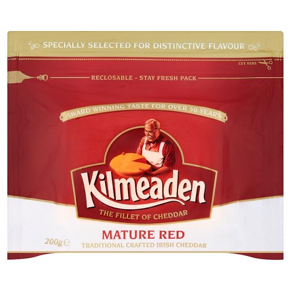 Kilmeaden Mature Red Cheddar