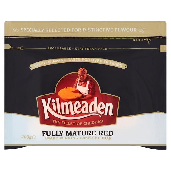 Kilmeaden Fully Mature Red Cheddar