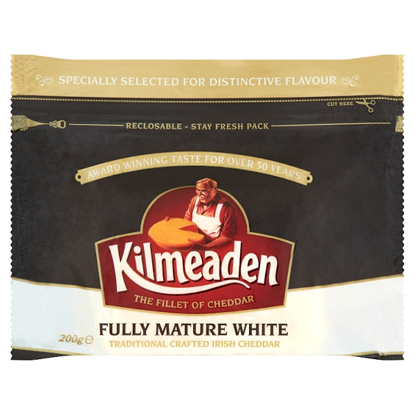 Kilmeaden Fully Mature White Cheddar