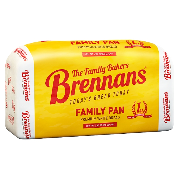 Brennans White Sliced Pan